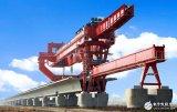 对架桥机进行实时监测的倾角传感器