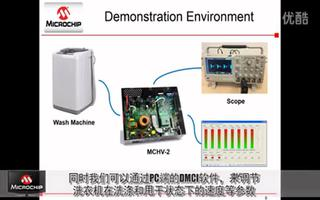 Microchip无传感器FOC变频洗衣机