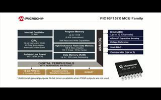 PIC16F157X 8位單片機系列2——信號發...