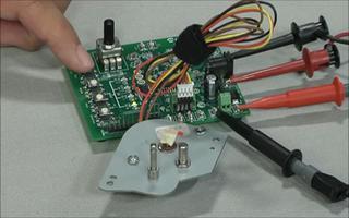 MTS2916A 雙全橋步進電機驅動器評估板