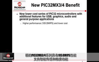 Microchip全新的PIC32MX3/4系列...