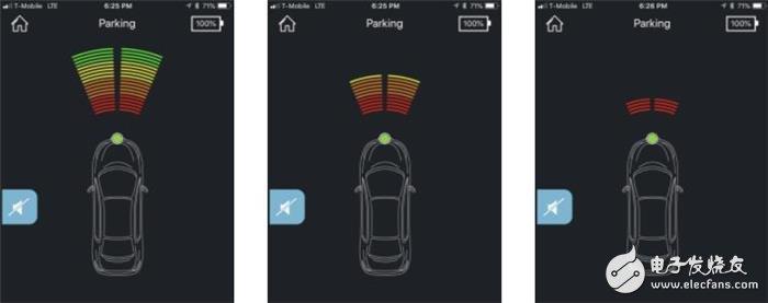 FenSens无线停车传感器,可探查车辆前方十米内的目标物
