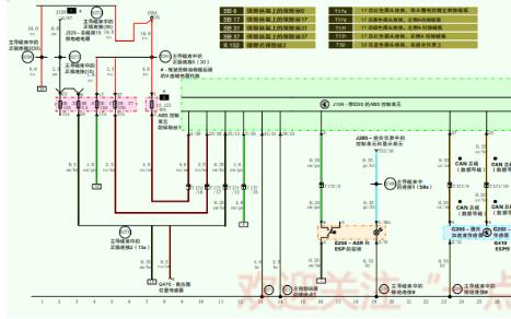 奔驰宝马奥迪电动机车系电脑和电路介绍及维修详细资料概述
