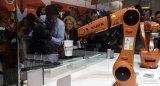 2017年,德国机器人和自动化设备在中国的销售额...