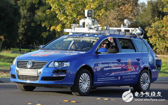 实现汽车自动驾驶的核心--雷达传感器,激光传感器