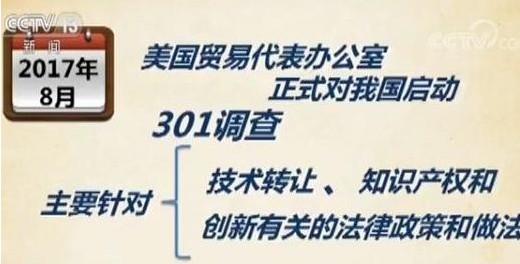 美国发布301关税加税建议清单,其主要牵制了中国...