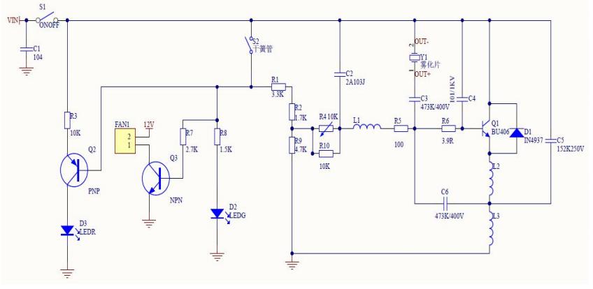 雾化器分类,工作原理和雾化器方案的详细资料概述