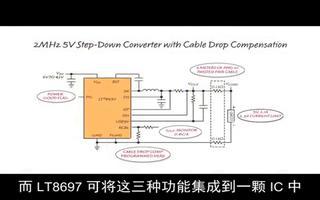 采用 LT8697 为汽车中的 USB VBUS...