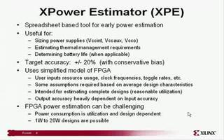Virtex-5 功耗估计与测量演示