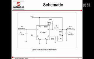 MCP16321/2/3 1A/2A/3A同步降压转换器