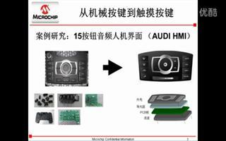 Microchip mTouch™电容触摸解决方...