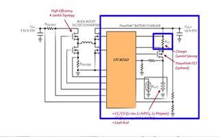LTC4020 控制器如何实现高效率降压,工作原...