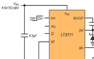 凌力尔特的 LT®3970 / LT3971 低电流待机模式演示