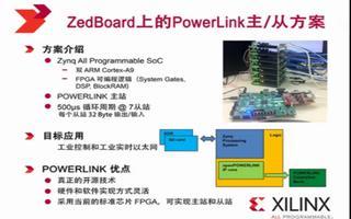在ZedBoard上实现POWERLINK主从方...