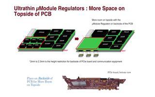 四通道 3A、超薄型 μModule 电源模块稳...