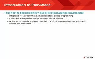 【PlanAhead教程】-1 Introduc...
