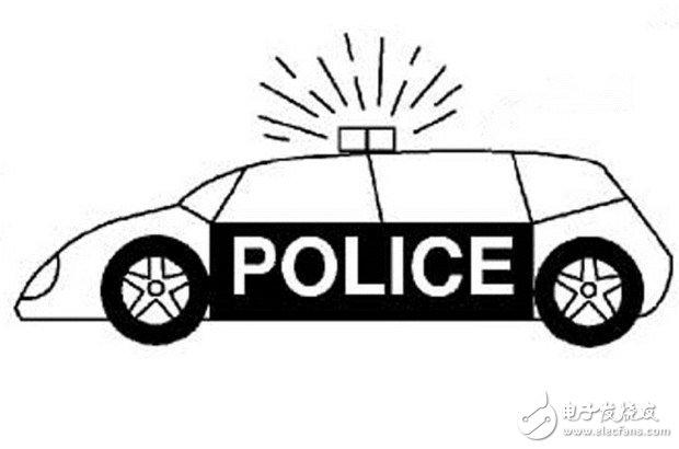 自动驾驶警车自动贴罚单,让交警的执法变得更加高效