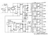 380V AC输入多路输出小功率辅助开关电源电路...