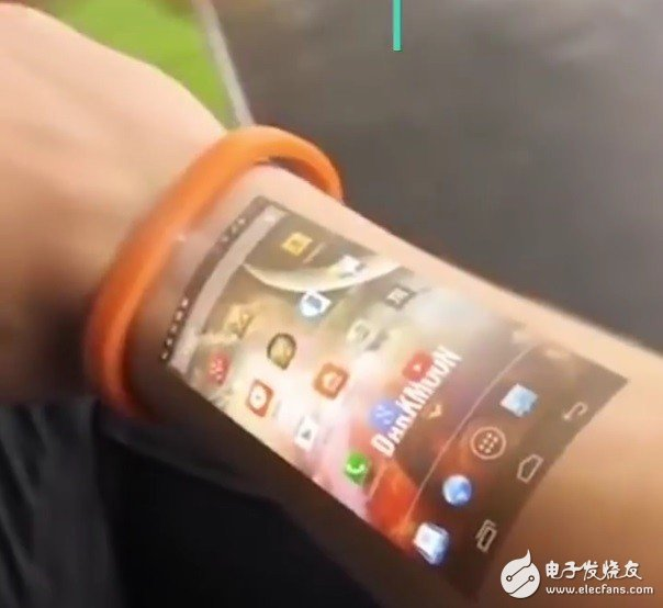 让手臂成为智能手表的一块触控屏--LumiWatch智能手表