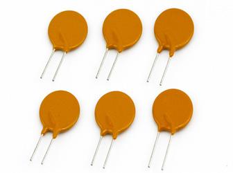 不同耐压的插件自恢复保险丝应用