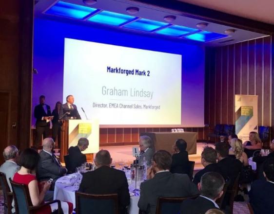 Markforged荣获评选为最佳企业级3D打印机