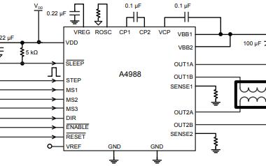 A4988步进电机驱动芯片的详细英文数据手册
