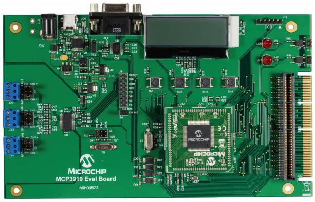 用于16位MCU的MCP3919 ADC评估板的详细中文资料概述