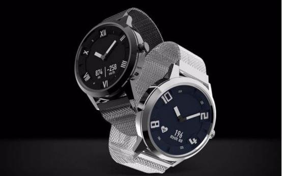 联想发布一款搭载瑞士朗达机芯的智能手表--联想W...