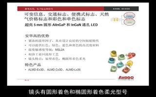 安华高科技在电子标志和信号中的应用