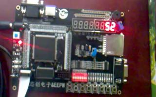 采用FPGA DIY开发板实现数码管动态显示60计数