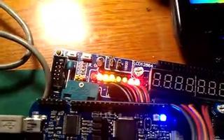 使用RL78G13P1口驱动8个LED循环闪烁