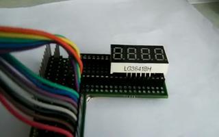 通过连接RL78/G13开发板实现数码管静态显示LOVE EEPW LOVE RL78/G13