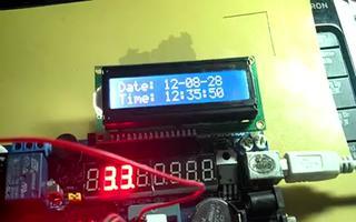 用RTC时钟模块来实现LCD1602实时显示