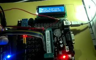 介绍 LCD1602 液晶屏驱动显示