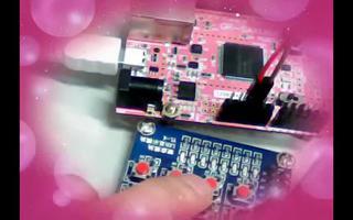 了解用Sakura实验板制作的数字IO输入电路