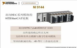 介绍 I/O NI系统,C系列的I/O模块