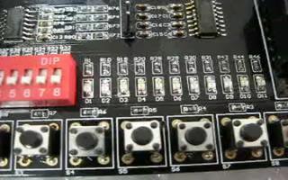 采用 FPGA DIY 开发板实现花样流水灯功能