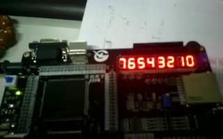 通过FPGA DIY开发板实现数码管动态显示