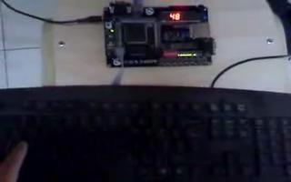 FPGA DIY开发板的PS2键盘控制