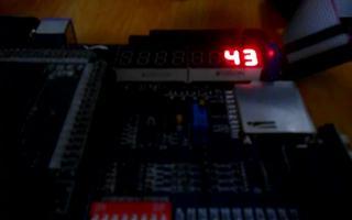 FPGA_DIY 數碼管顯示60秒計時