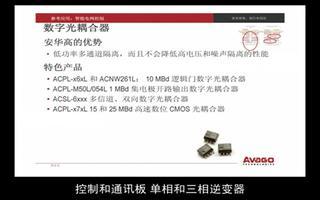 智能电网控制系统的许多领域可用安华高科技方案解决