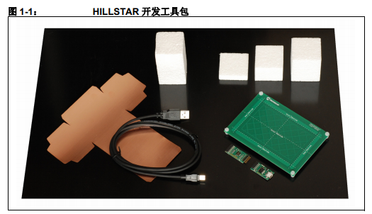 MGC3130 Hillstar 开发工具包的安装与使用的详细资料介绍