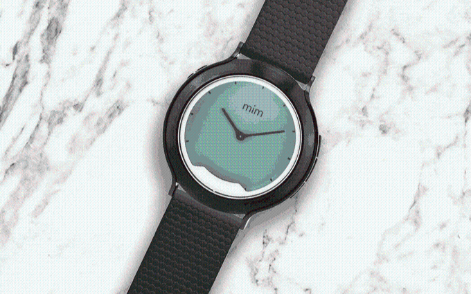 """智能+机械,""""二合一""""智能手表--mim X"""