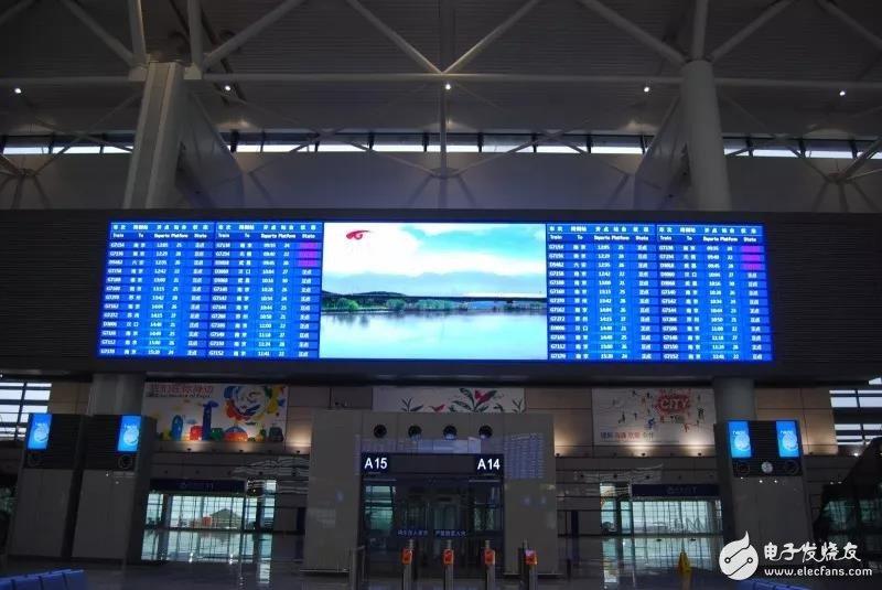 三思制造适用于高铁LED显示屏,遍布大江南北占据众多城市