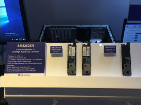 慧荣科技最新款PCIe SSD控制芯片 支持4K...