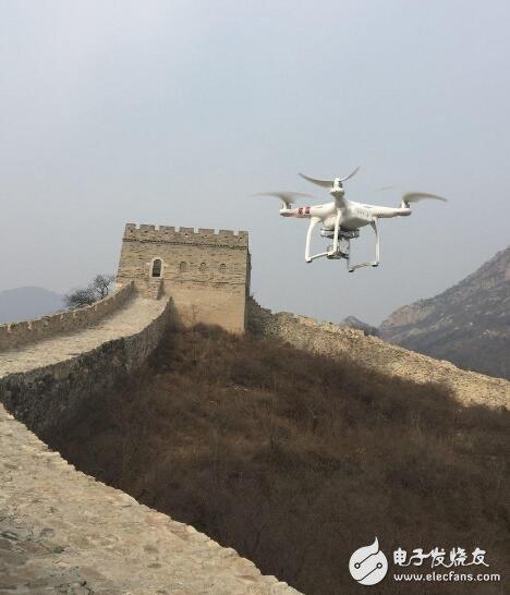"""英特尔:以""""AI+无人机""""方式进行长城保护项目"""