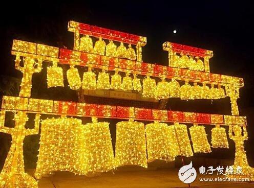 徽园第三届大型艺术灯光秀璀璨上演,2500万盏LED灯齐助力