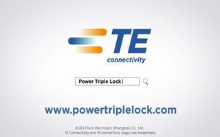 为您介绍:三重锁扣式电源连接器