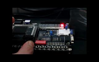 由FPGA DIY开发板实现按键控制数码管输出1_9
