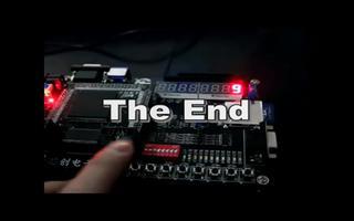 由FPGA DIY开发板实现消抖按键控制数码管显示0—9